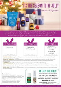 Young Living Dec 2017 promo